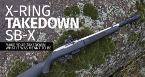 TACTICAL SOLUTIONS X-RING TAKEDOWN SBX RIFLE