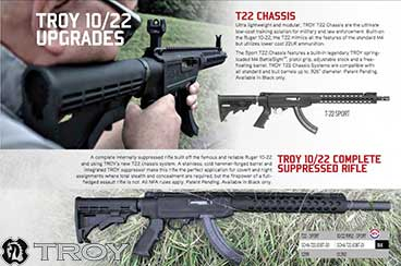TROY T22 TRX 10-22 CHASSIS