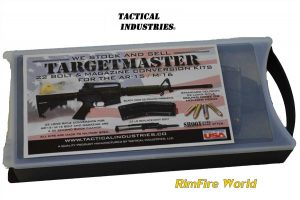 TACTICAL INDUSTRIES TARGET MASTER AR-15 22LR CONVERSION KIT CASE