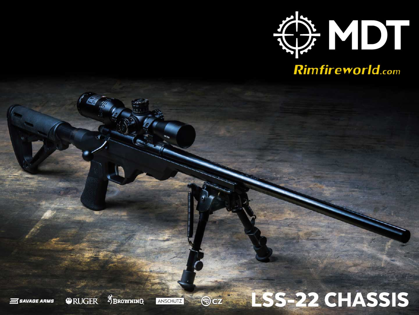 MDT LSS 22 Rifle Chassis