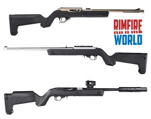 Magpul X-22 Backpacker Stock Installed on a Ruger 10-22 Takedown
