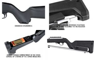 Magpul X-22 Backpacker Stock Features