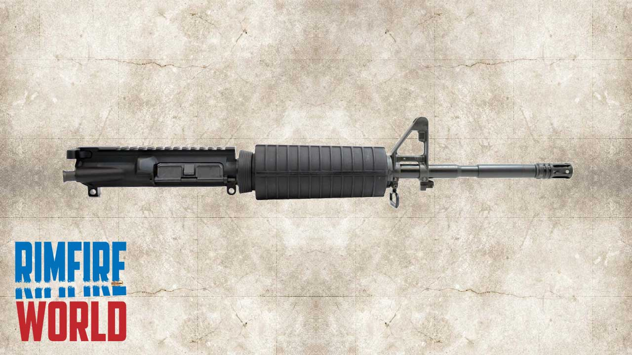 Picture of a Palmetto State Armory PSA 16 Inch 22 LR AR Upper
