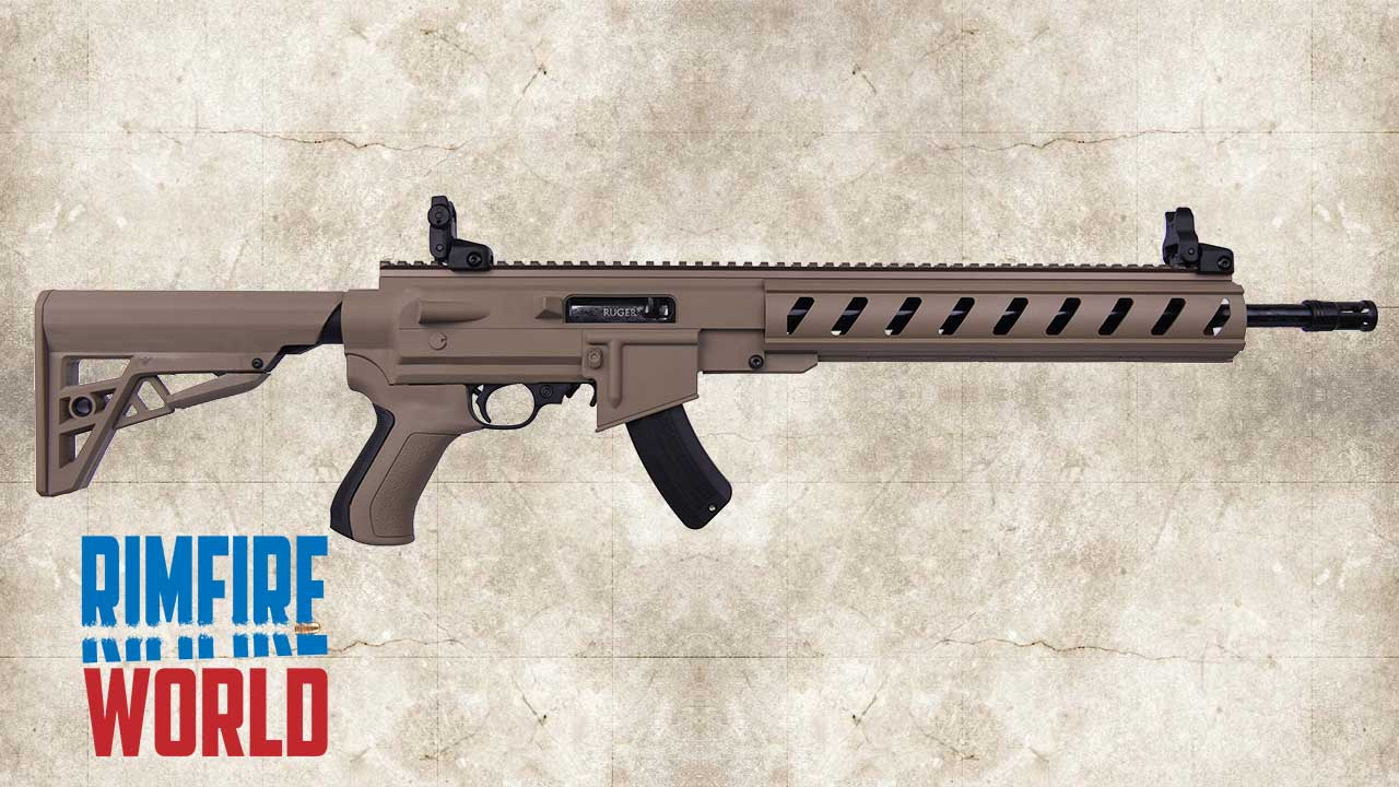 Picture of a RUGER 10/22 TACTICAL ATI AR-22