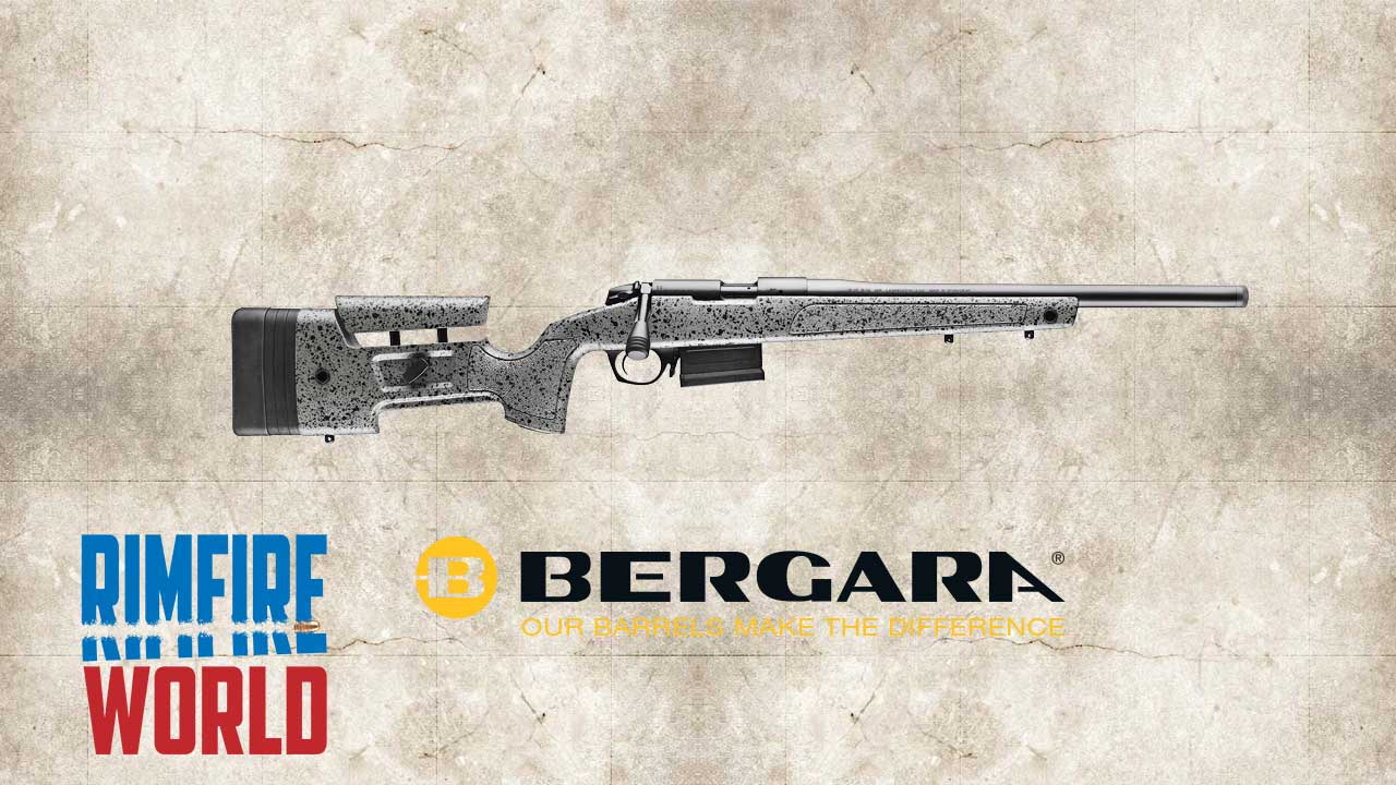 Picture of a BERGARA B14R 22LR STEEL RIFLE