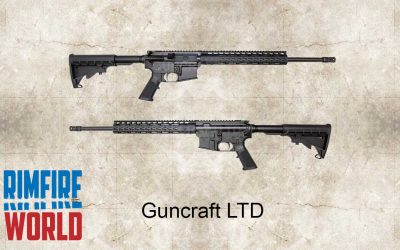 GUNCRAFT 22 MAGNUM AR-15 SEMI AUTO RIFLE
