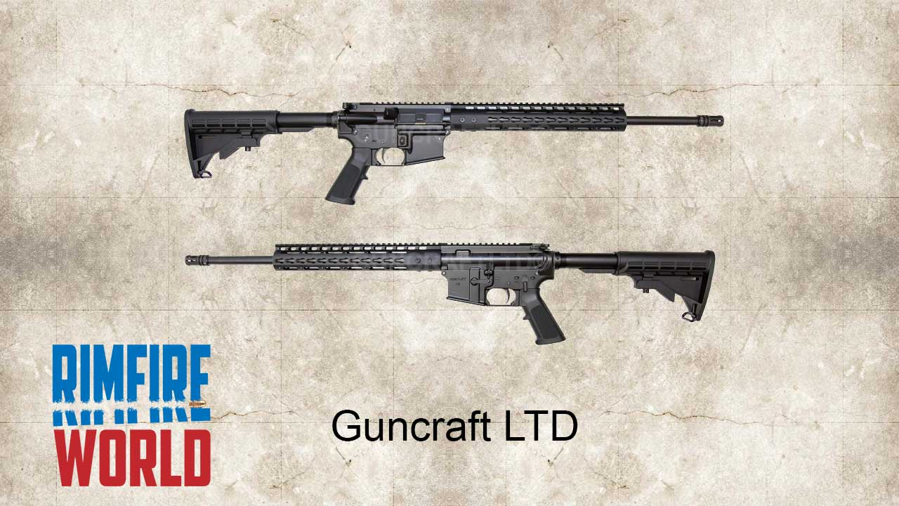 Picture of a Guncraft .22 Magnum AR-15 Semi Auto Rifle