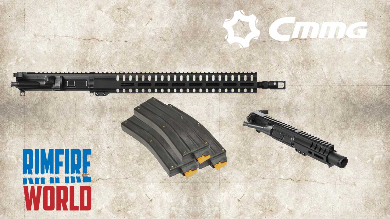 Picture of a CMMG Banshee 22LR Upper AR-15 Receiver