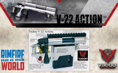 Vudoo V-22 Rimfire Repeater Action