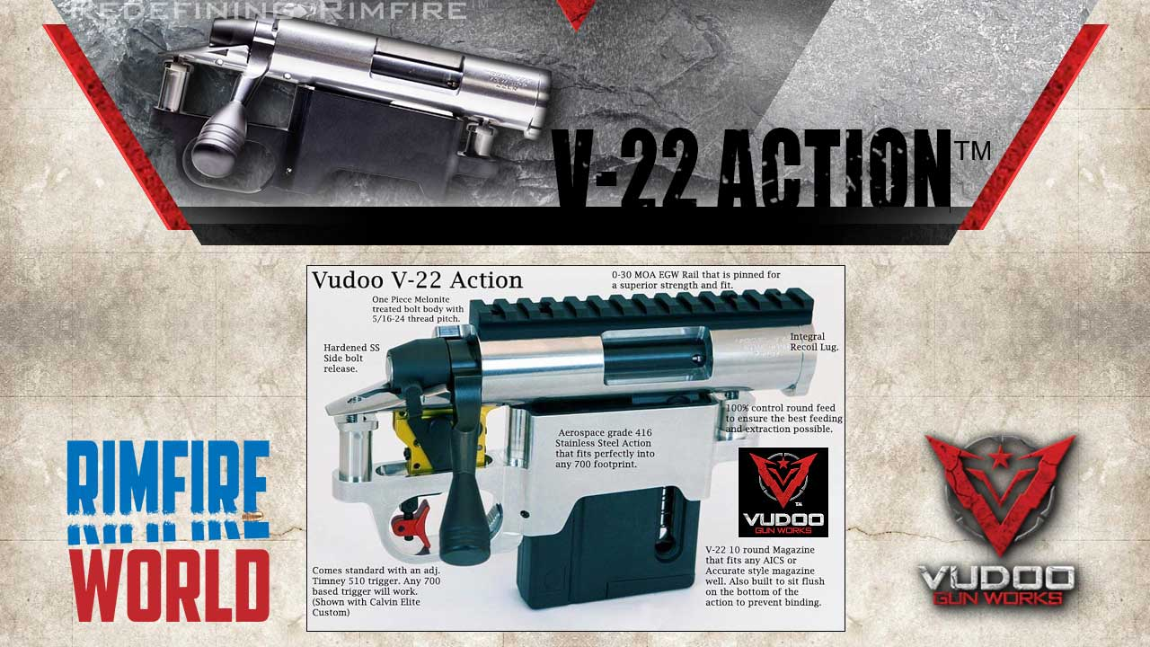 Vudoo V22 Rimfire Repeater Action